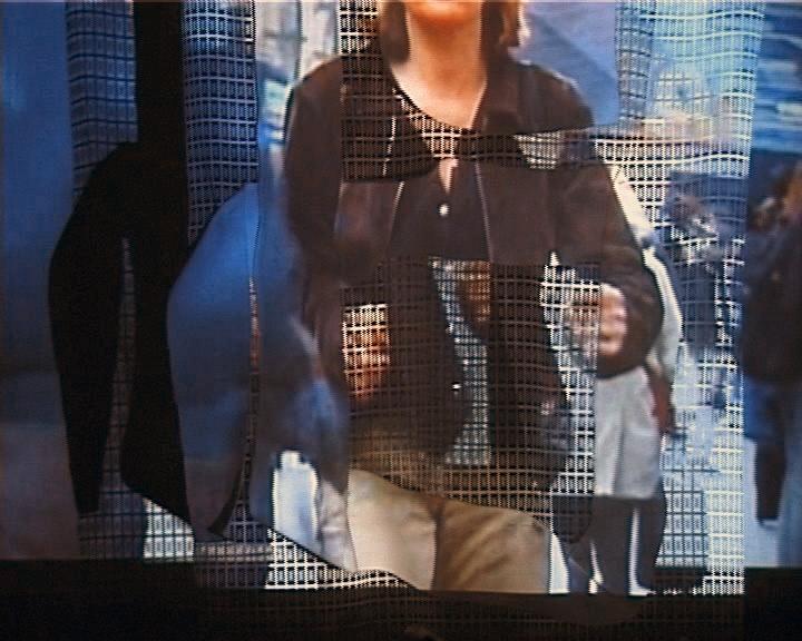 Projections sur écrans textiles Gens Métro vue 5