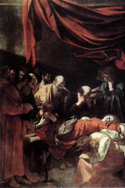 R La mort de la vieerge Le Caravage (vers 1605-1606)